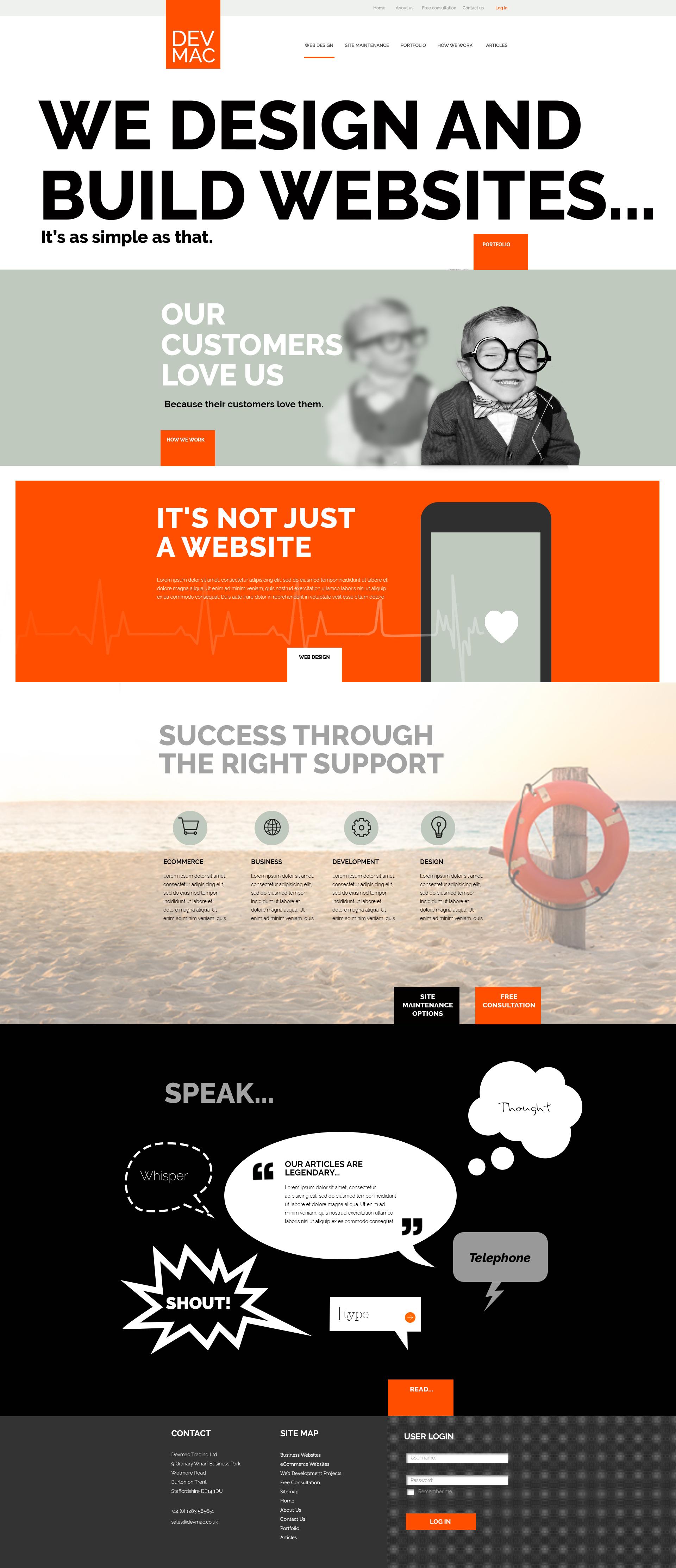 Devmac website 2016