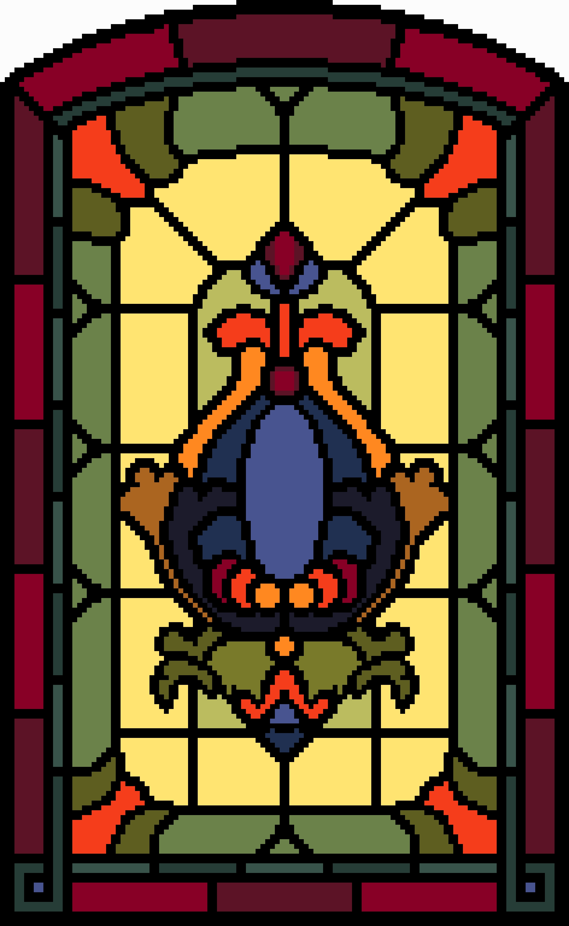 Georgian window - Vivienne Powers