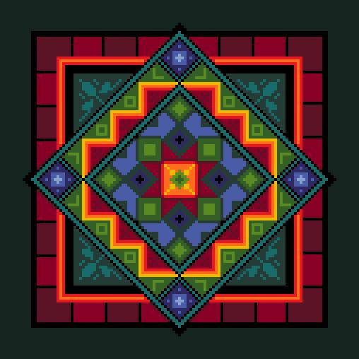 geometric cushion - Vivienne Powers