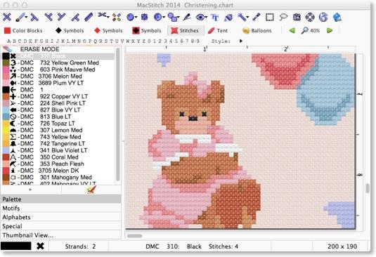 MacStitch software. http://www.ursasoftware.com/