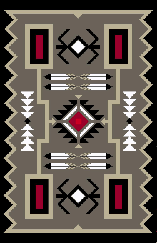 Navajo rug wall hanging